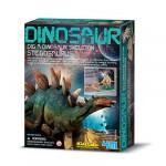 4M Dinosaur Dig a Dinosaur Skeleton Stegosaurus