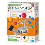 4M Green Science Solar System Solar Hybrid Power - Motorised