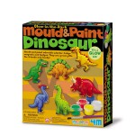 4M Glow in the Dark Mould & Paint Dinosaur