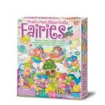 4M Mould & Paint Glitter Crafts Fairies