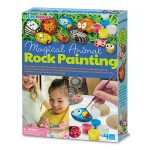 4M KidzMaker Magical Animal Rock Painting