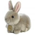 Aurora Angora Bunny Grey - 7.5 inch