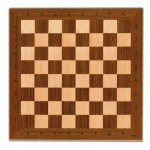 Cayro Wooden Ludo And Chess Board, 33 x 33 cm (board only)