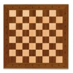 Cayro Wooden Chess Board 33 x 33 cm (board only)