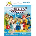 Cobi Action Town 1 Figure with Accessories