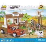 Cobi 420 Pcs Action Town Ranch