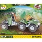 Cobi 60 Pcs Small Army ATV with Avanger