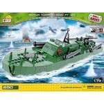 Cobi 480 Pcs Small Army Motor Torpedo Boat