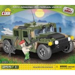 Cobi 255 Pcs Small Army Nato Aatv Camo Green