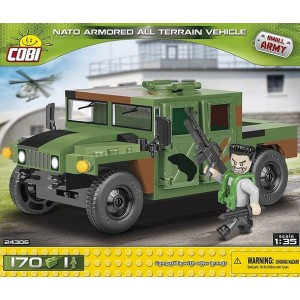 Cobi 170 Pcs Small Army Nato Attv Jungle Depl