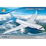 Cobi 320 Pcs Boeing 737 8 Max