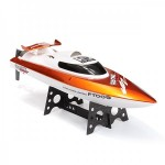 Feilun RC Boat, 4Ch, 2.4GHz - Red
