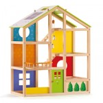 Hape All Season House - Doll house (without furniture)