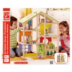 Hape All Season House (Doll house) - with furniture