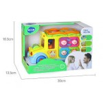 Hola Keep Me Busy School Bus with Light/Music/Electric Universal