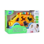 Hola Shape Sorting Bus with Music/Light/Electric Universal/Block