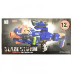 Zecong Blaze Storm Battery Operated Soft Ball Gun with 12 Soft Balls