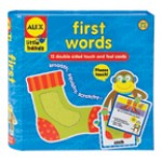 Alex Touch & Feel Cards - First Words