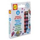 Alex 6 Metallic Oil Pastels