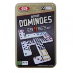 Ideal Double 9 Dominoes Tin