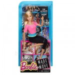 Barbie Barbie Made To Move Doll, Pink Top