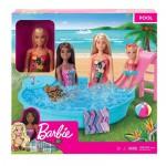Barbie Barbie Pool W/Doll
