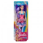 Barbie Dreamtopia Fairy Doll Purple Hair with Wings & Tiara