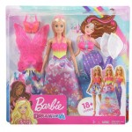 Barbie Dress-Up Doll Gift Set  1