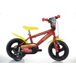 Dino Bikes Cars Bicycle - 14 inch