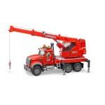 Bruder MB Arocs Crane Truck With Light