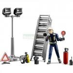 Bruder Fire Brigade Figure Set