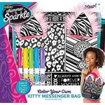 Cra-Z-Art Shimmer n' Sparkle Color Your Own Kitty Messenger Bag