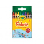 Crayola Fabric Crayons 8Ct