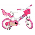 Dino Bikes Barbie Bicycle - 12 inch