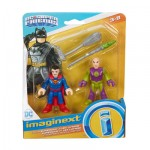 Fisher-Price Imaginext Justice League Superman & Lex Luthor