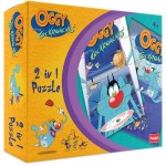 Funskool Oggy and The Cockroaches 2-in-1 Puzzle