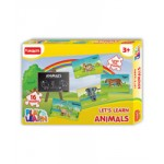 Funskool Play & Learn Let's Learn Animals Puzzle