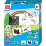 Funskool Play & Learn Let's Learn Vehicles Puzzle