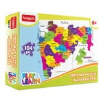 Funskool Play & Learn Let's Learn State Map Puzzle - Maharashtra