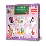 Funskool Play & learn Let'S Write School Essentials Puzzle
