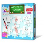 Funskool Play & Learn Let's Write Numbers Puzzle