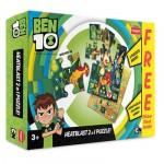 Funskool Ben 10- Heat Blast 2 In 1 Puzzle