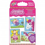 Galt Sensational Sequins - Fairies and Unicorns