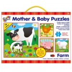 Galt Mother and Baby Puzzle - Farm