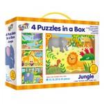 Galt 4 Puzzles in a Box - Jungle