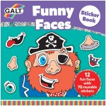 Galt Funny Faces Sticker Book