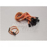 20CM Male to Male Servo Lead (JR) 26AWG