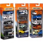 Matchbox 5-Pk Car Gift Set Assortment