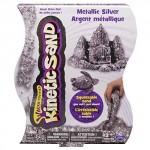 Kinetic Sand Metallic Pack - 1lb (454g) - Silver