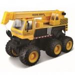 Maisto Fresh Metal Series Quarry Monsters - Crane - Yellow